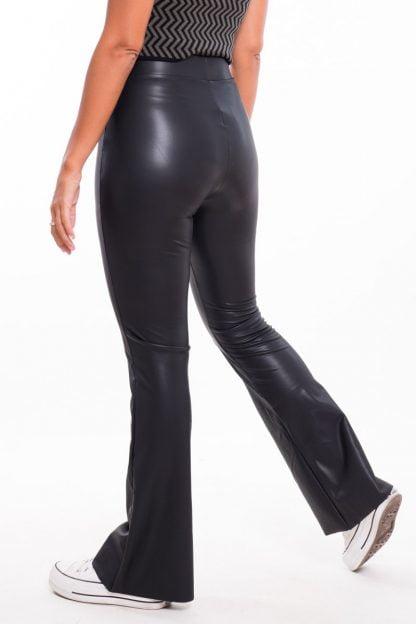 Comprar Pantalón Polipiel Acampanado Online