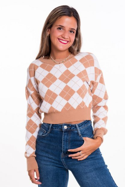 Comprar Jersey Cropped Rombos Online