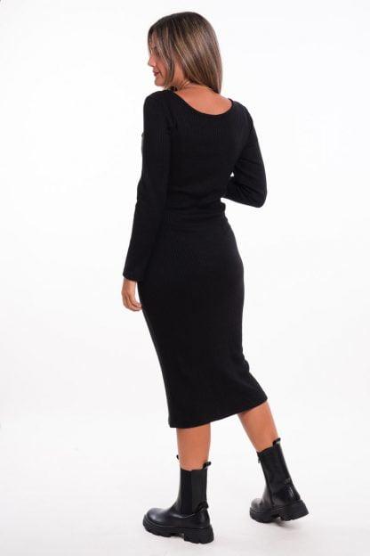 Comprar Vestido Punto Midi Online