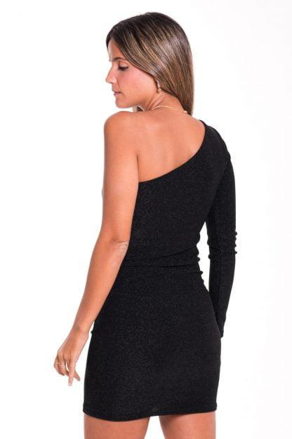 Comprar Vestido Asimétrico Lurex Online