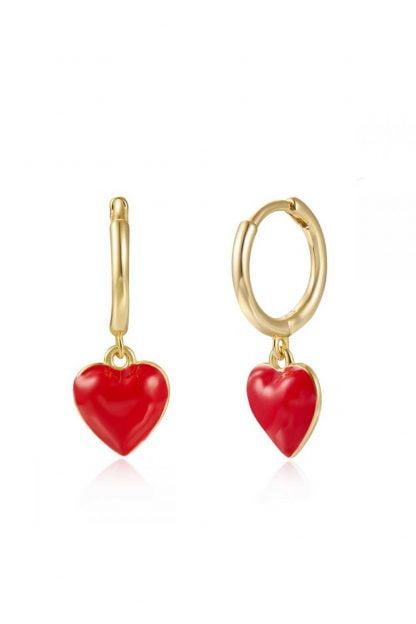 Comprar Pendientes Aro Corazón Online