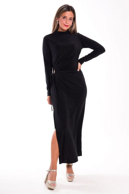 Comprar Vestido Midi Fruncido Online