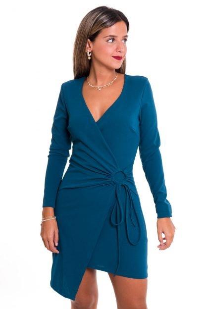 Comprar Vestido Corto Cruzado Online