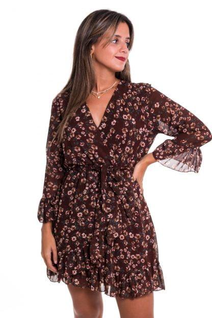 Comprar Vestido Volante Otoño Online