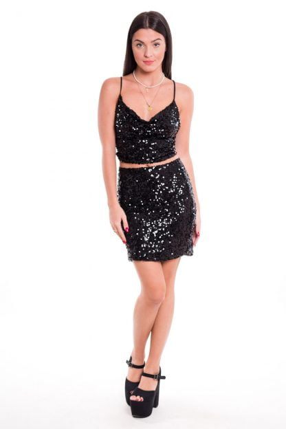 Comprar Top Cascada Glitter Online
